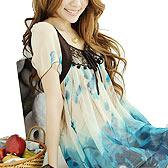 韩版浪漫雪纺连衣裙